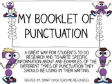 My Booklet of Punctuation - Great for Intermediate Students!