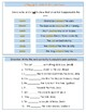 My Booklet on Past Tense Verbs