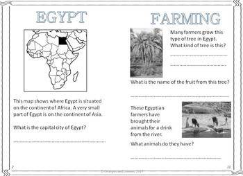 My Books of Egypt, New Zealand, Italy and Cambodia Bundle