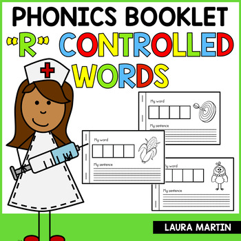 Interactive Phonics Booklet-Bossy R