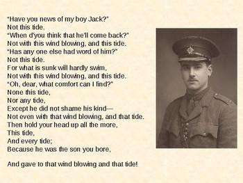 My Boy Jack - World War One Poem by Rudyard Kipling