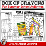 My Brand New Box of Crayons End of Year Gift