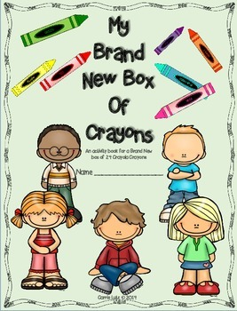 My Brand New Box of Crayons ~ End of the Year Gift for Ele