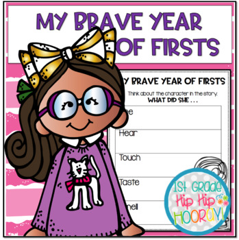My Brave Year of Firsts Book Companion...Craft and Activities!