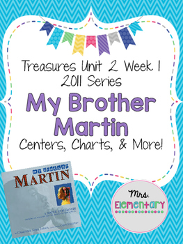 My Brother Martin Centers and Charts