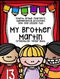Fourth Grade Journey's Supplemental Activities: My Brother Martin Lesson Two