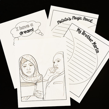 My Brother Martin & Malala's Magic Pencil- Compare and Contrast RL4.9- MLK Day