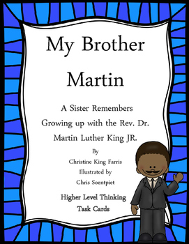 My Brother Martin Task Cards