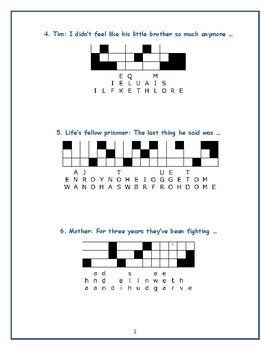 My Brother Sam Is Dead: 10 Quotefall Puzzles—A good spelling workout!