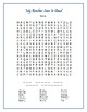 My Brother Sam Is Dead: 2 Word Searches w/Hidden Messages