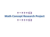 Math Concept Research Project