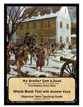 My Brother Sam Is Dead   Whole Book Test