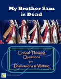 My Brother Sam is Dead Critical Thinking Questions