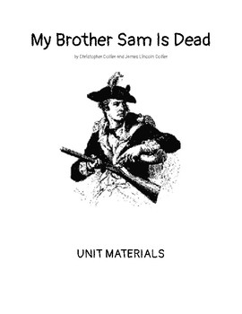 My Brother Sam is Dead- Unit materials