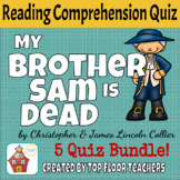 My Brother Sam is Dead Weekly Quizzes