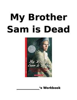 My Brother Sam is Dead comprehension workbook