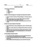"""RL 4.2 Theme: """"By My Brother's Side"""" 4th Grade Common Core Questions"""