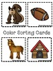Color Books;Brown; Includes 3 worksheets;Cut/Paste Activity;Color Sort Center