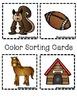 Color Books;Brown; Includes 3 worksheets;Cut/Paste Activity;Color Sort Center