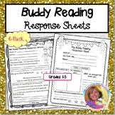 Buddy Reading Response Sheets 6-Pack