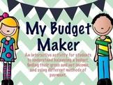 My Budget Maker - Understanding Financial Literacy