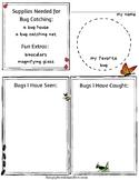 My Bug Adventure Worksheet