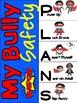 My Bully Safety Plan Flip Book  - Boy Superheros