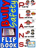My Bully Safety Plan Flip Book  - Boy Superheros