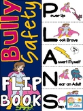 My Bully Safety Plan Flip Book  - Tween Superheros