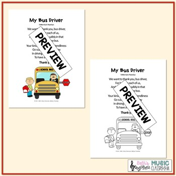 Bus Driver Appreciation Day & Week, My Bus Driver - Original Poem
