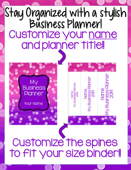 My Business Planner: Network Marketing (Younique)