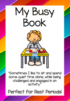 My Busy Book - An Engaging and Challenging Activity Folder