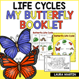 Butterfly Life Cycle Book | Distance Learning