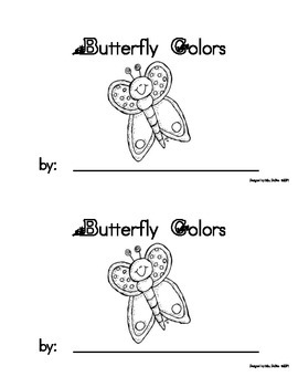 My Butterfly Colors Book