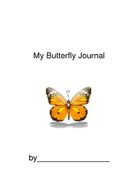 My Butterfly Life Cycle Journal