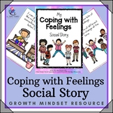 My Coping with Feelings Book - Social Story and Activities (special needs)