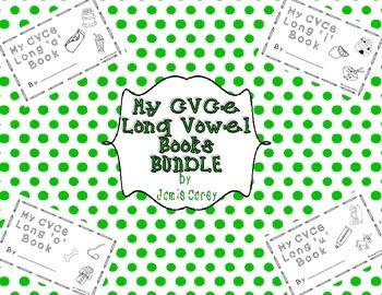 My CVCe LONG VOWEL BOOKS BUNDLE
