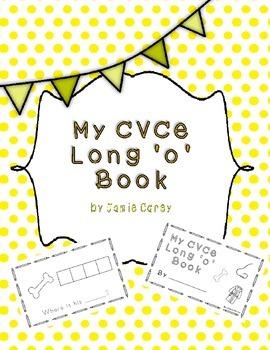 My CVCe Long 'o' Book