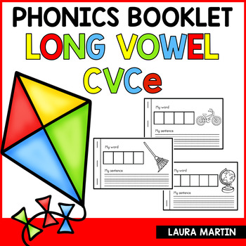 Interactive Phonics Booklet-CVCe Words