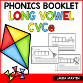 Long Vowels Booklet CVCe Words | Distance Learning