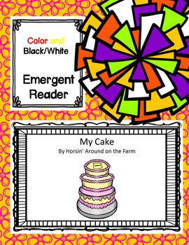 My Cake - Emergent Reader