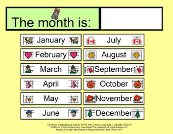 My Calendar - Activity Book