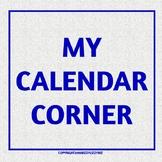 My Calendar Corner