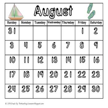 My Calendar Notebook - Editable Spanish & English Bundle