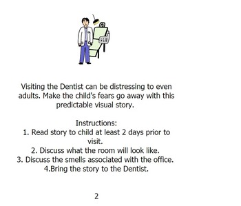 My Visit to the Dentist/Social Story