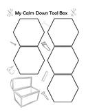 My Calm Down Tool Box - Coping Skills Activity