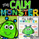 My Calm Monster, an identifying emotions activity.