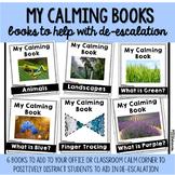My Calming Books   6 Books for De-Escalation