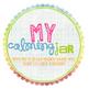 My Calming Jar Label