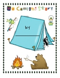 """""""My Camping Story"""" Cover and Writing Paper"""